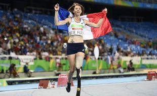 Marie-Amélie Le Fur a remporté deux médailles d'or (400m et longueur) lors des Jeux paralympiques de Rio en 2016.