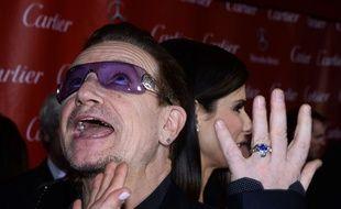 Bono, le 4 janvier 2014, à Palm Springs.