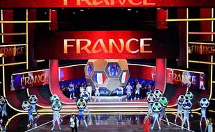 La France a hérité du groupe C lors du tirage au sort de la Coupe du monde 2018, le 1er décembre 2017 à Moscou.