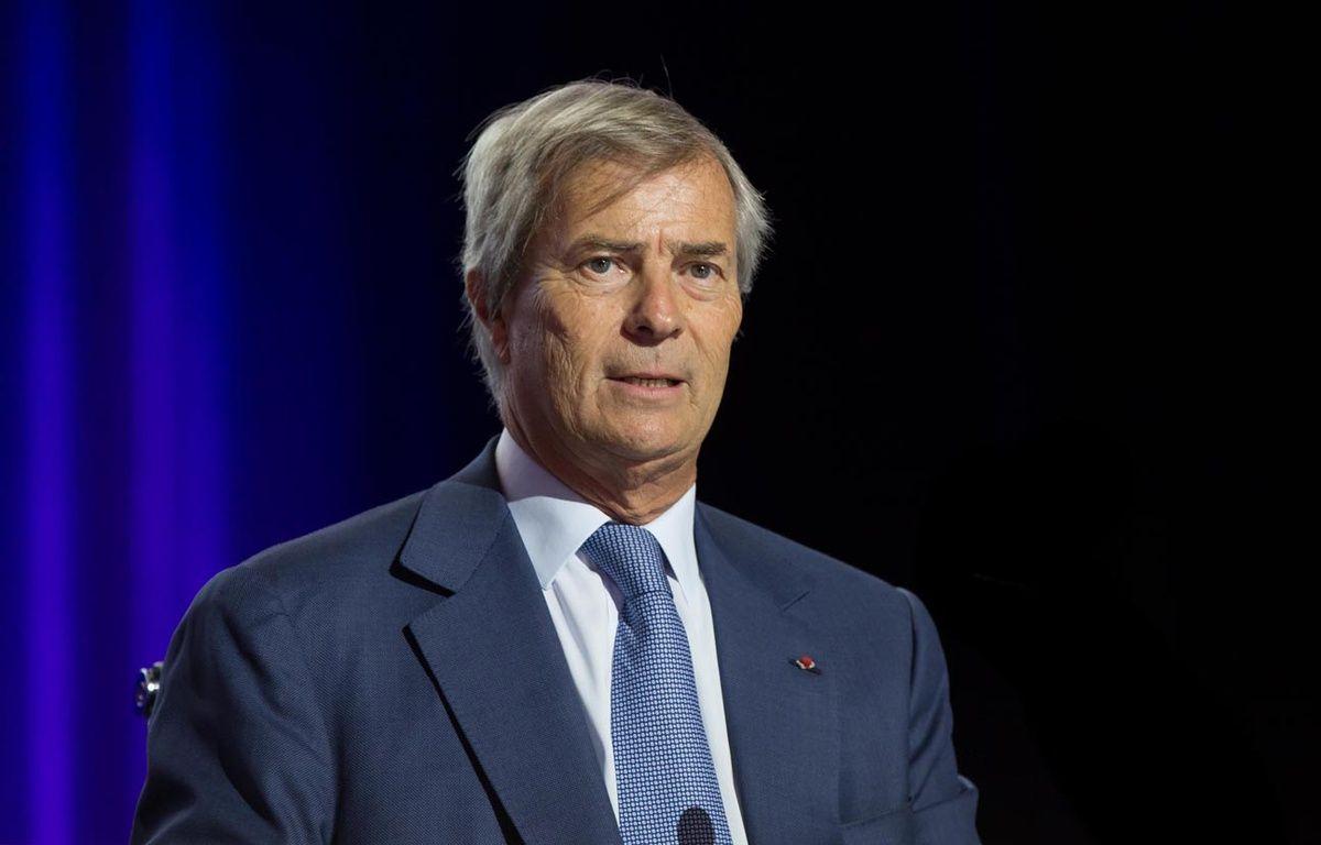 Vincent Bolloré, le patron de Vivendi, à Paris en avril 2015. – MEIGNEUX/SIPA