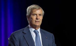 Vincent Bolloré, le patron de Vivendi, à Paris en avril 2015.