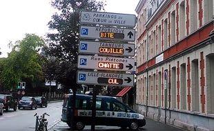 Un hacker détourne les panneaux électroniques à Lille