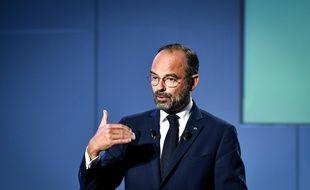 Le Premier ministre Edouard Philippe, à Bordeaux. AMEZ / ROBERT/SIPA.