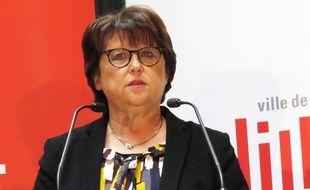 Martien Aubry, lors des vœux à la presse, en janvier 2018.