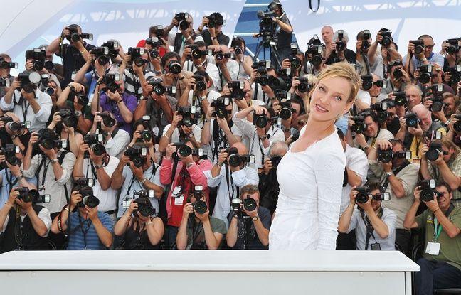 Uma Thurman à Cannes le 11 mai 2011.