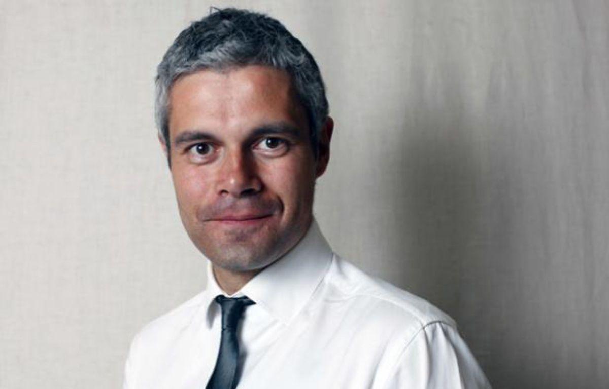 Laurent Wauquiez, ministre desAffaires europennes, dans son bureau au Quai d'Orsay, le 20 avril 2011. – BISSON/JDD/SIPA