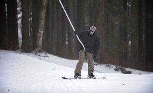 Illustration ski Alsace. le 21 01 2009
