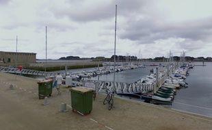 Le drame s'est déroulé samedi matin dans le port de l'Aber Wrac'h à Landéda.