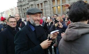 L'acteur Vincent Cassel était venu à l'Arras film festival en 2018.