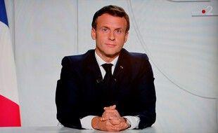 Emmanuel Macron, le 28 octobre 2020.