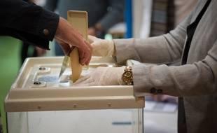 Illustration d'une urne de vote.