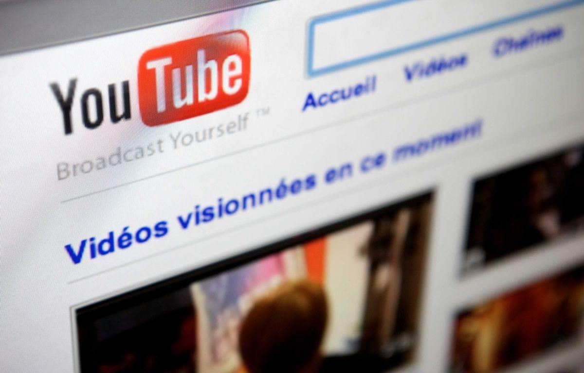 Illustration de la plateforme de vidéos YouTube. – LOU WEE/SIPA