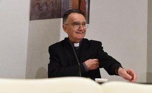 Le président de la Conférence des évêques de France (CEF), Mgr Georges Pontier, le 4 novembre 2014 à Lourdes