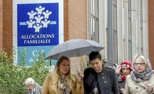 Une caisse d'allocations familiales à Lille (image d'illustration).
