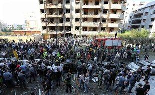 Attentat à Beyrouth, au Liban, le 19 novembre 2013.