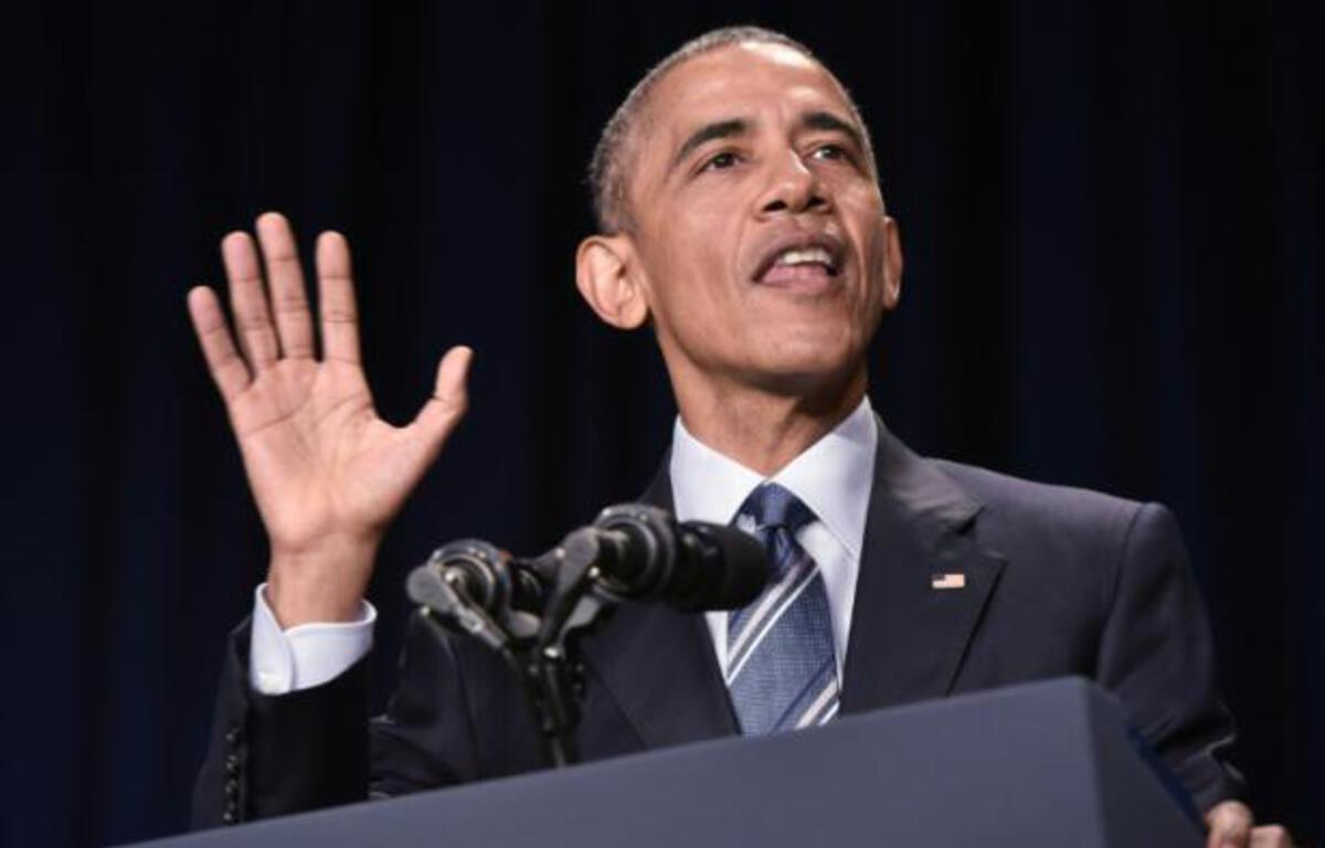 Le président américain Barack Obama, le 4 février 2016 à Washington – MANDEL NGAN AFP