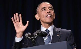 Le président américain Barack Obama, le 4 février 2016 à Washington