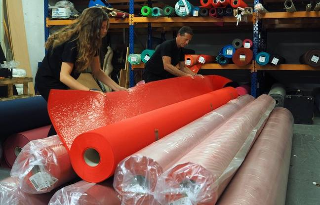 Le tapis rouge sera changé trois fois par jour sur les célèbres marches