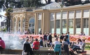 A Rennes, le parc du Thabor attire chaque année 1,5 million de visiteurs.