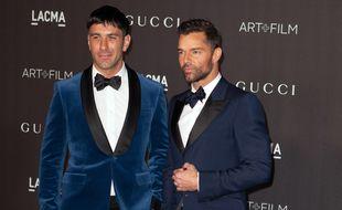 Les époux Jwan Yosef et Ricky Martin