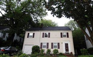 La maison à Montclair (New Jersey, Etats-Unis) de Richard et Cynthia Murphy, soupçonnés d'appartenir à un réseau d'espionnage russe.