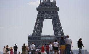 Avec 1.850.000 visiteurs en 2013, les Américains sont à la première place des nationalités étrangères à visiter Paris.