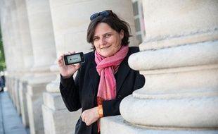 Clothilde Chapuis, présidente de la Licra Bordeaux et Gironde