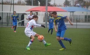 Les U15 lyonnaises sont passées tout près de leur premier succès de la saison samedi contre l'AS Buers Villeurbanne (1-1).