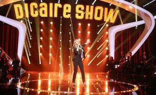 Veronic DiCaire dans le «DiCaire Show» (France 2), en mars 2016.