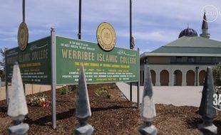 Capture d'écran du collège islamique de Melbourne.