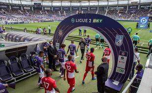 Le TFC a perdu son premier match de Ligue 2, le 22 août au Stadium contre Dunkerque (0-1).