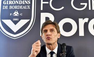 Frédéric Longuépée, le nouveau président des Girondins de Bordeaux.