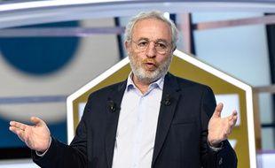 Jean-Michel Roussier, le directeur de l'éphémère chaîne Téléfoot, qui s'est arrêtée le 7 février 2021.