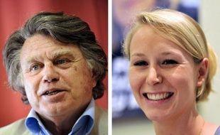 Avec deux élus, le Front national va retrouver l'Assemblée après 14 ans d'absence, une victoire symbolique forte, mais sans sa présidente Marine Le Pen, battue d'extrême justesse dans le Pas-de-Calais alors que sa nièce Marion Maréchal-Le Pen et Gilbert Collard l'ont emporté.