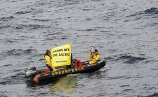 Six militants de Greenpeace ont pris d'abordage jeudi en pleine mer Baltique le brise-glace Nordica affrété par Shell pour l'aider dans un forage en Arctique et que l'organisation écologiste avait déjà tenté de bloquer au port d'Helsinki en début de semaine, selon l'ONG.