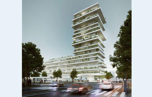 L'immeuble conçu par CAAU dans le quartier de Vauban-Esquermes, à Lille