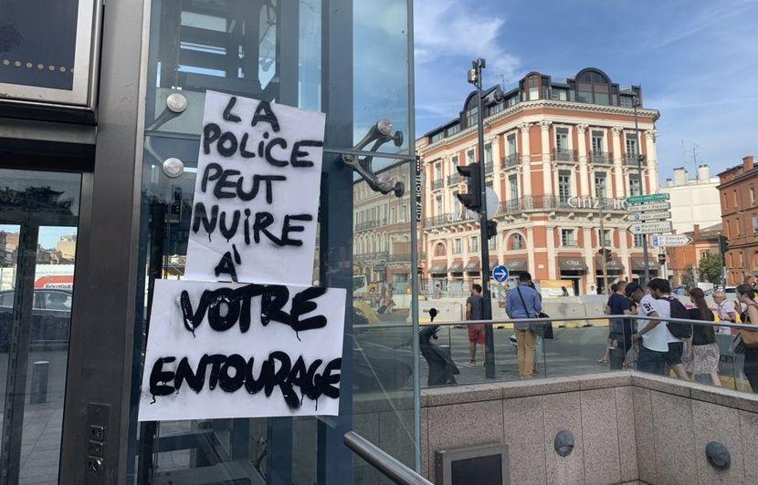 Toulouse: Des échauffourées entre police et manifestants pendant la marche en hommage à Steve