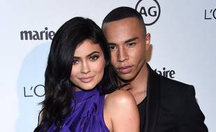 La femme d'affaires Kylie Jenner, et le styliste Olivier Rousteing