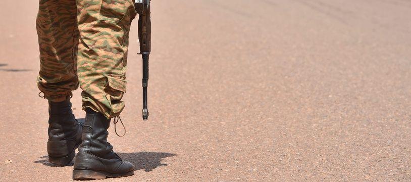 Un soldat au Burkina (illustration).