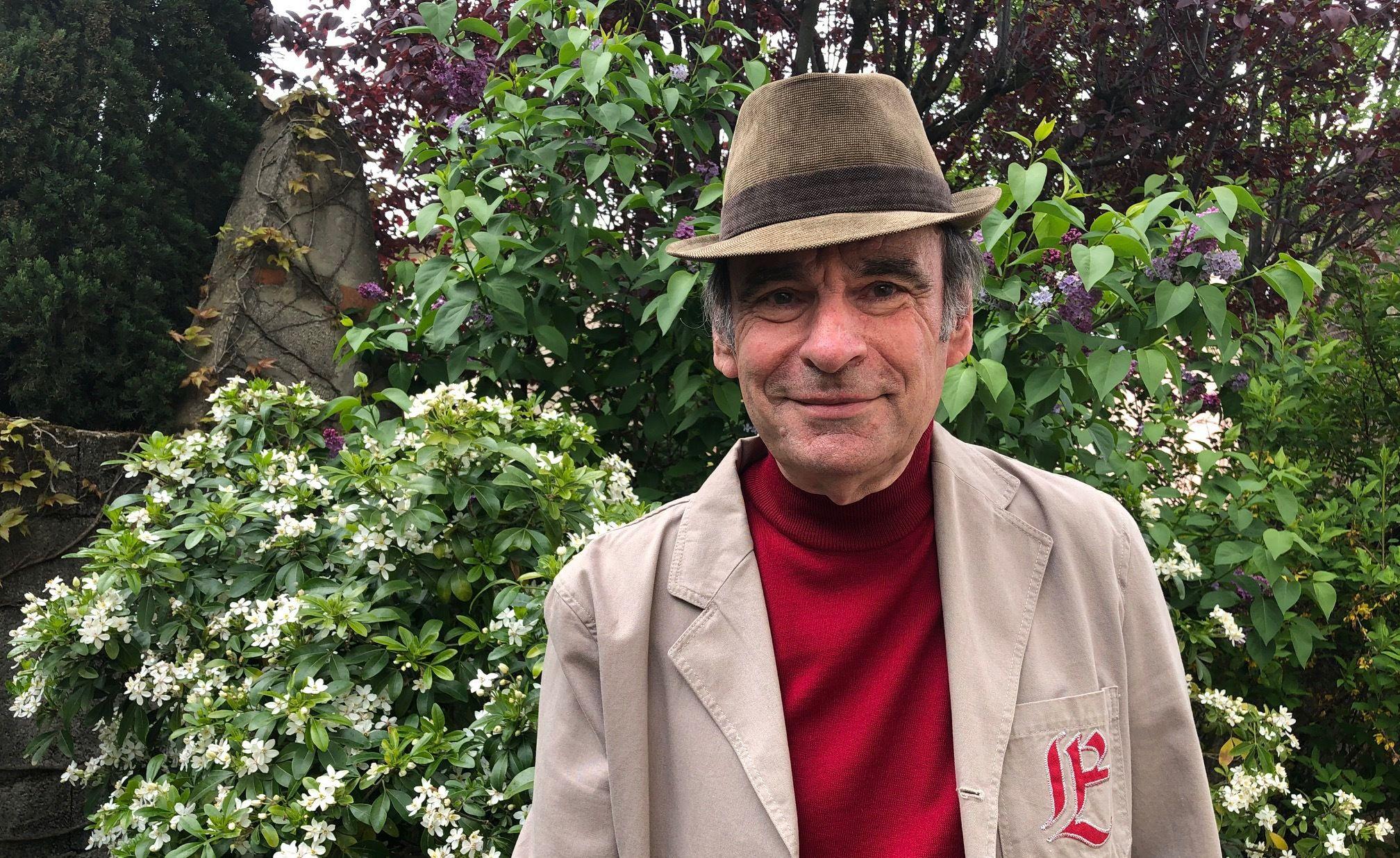 Gérard Pignol, habitant d'Oullins vers Lyon est candidat à la présidentielle en 2022.