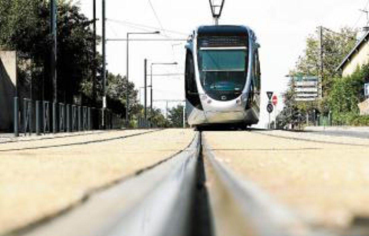 Parmi les projets menacés, le prolongement du tram vers le Parc des expos. –  F. Scheiber/20 minutes