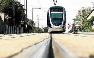 Parmi les projets menacés, le prolongement du tram vers le Parc des expos.