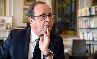 François Hollande, le 4 novembre 2020 dans son bureau à Paris.
