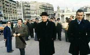 Gaston Defferre le 27 février 1978 à Marseille