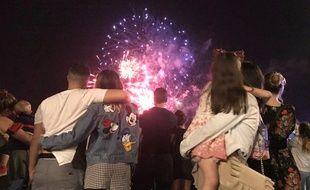 Le feu d'artifice est de retour à Nice après deux ans d'absence.