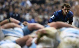 L'ailier français Maxime Médard contre l'Argentine, le 22 novembre 2014.