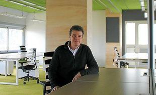 Fondateur d'Ubiflow, Antoine Krier veut s'inspirer des locaux de Google en Californie.