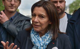 Anne Hidalgo, à Paris le 10 juillet 2021.