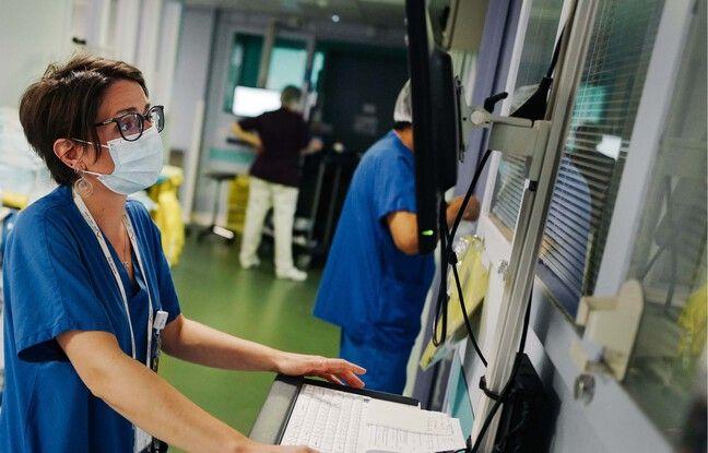 Marie Lecronier, médecin en réanimation au CHI de Créteil assure que la pression commence à retomber dans son service.