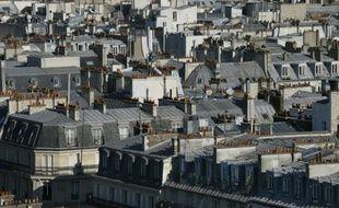 Les toits de Paris, le 11 septembre 2015.